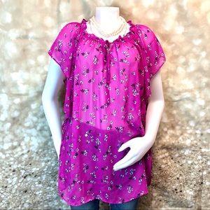Women Lane  Bryan blouse semitransparent size 20